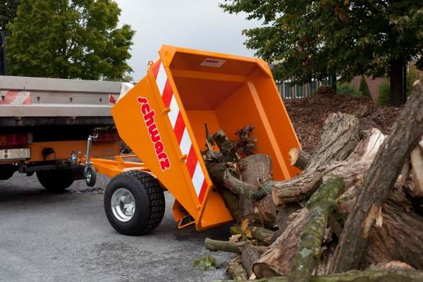 Kippanhänger Digger 02 ST mit Straßenzulassung verzinkt