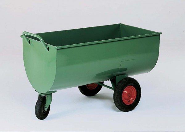 Futterwagen, Schrot- und Mehlwagen Riese, 600 Liter Inhalt