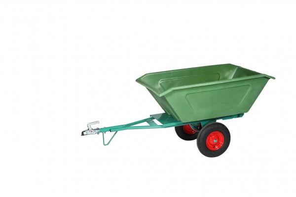 Kippanhänger Modell 06, mit Kunststoffwanne, 400 Liter Inhalt