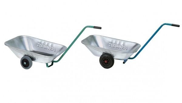 Transportwanne Colly-L Luftgummiräder mit verzinkter Wanne