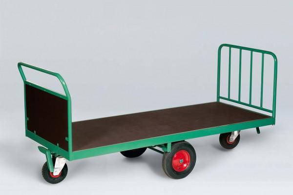 Quaderballen-Wagen schmale Ausführung, rhombische Radanordnung