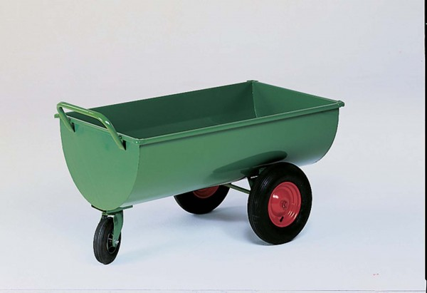Futterwagen Schrot- und Mehlwagen Läufer, 300 Liter Inhalt