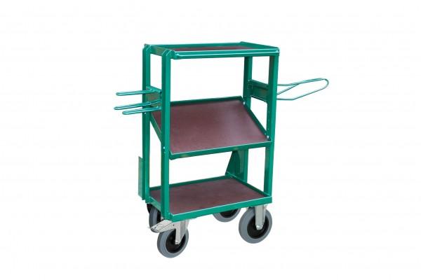 Sattelwagen John-Boy, pulverbeschichtet