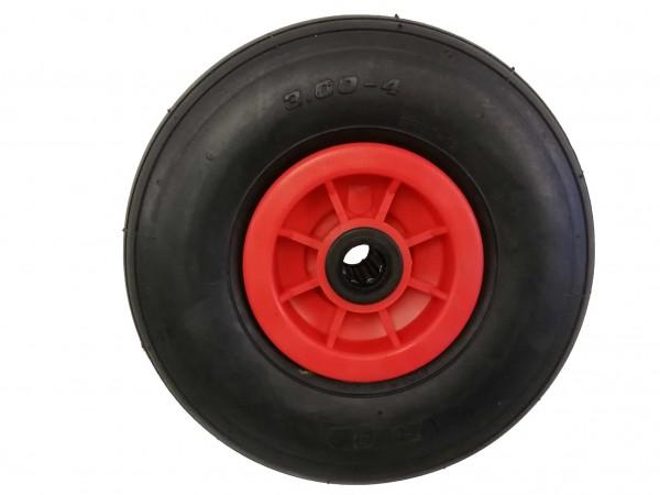 Pannensicheres Rad 260 x 85 mm, mit Kunststofffelge