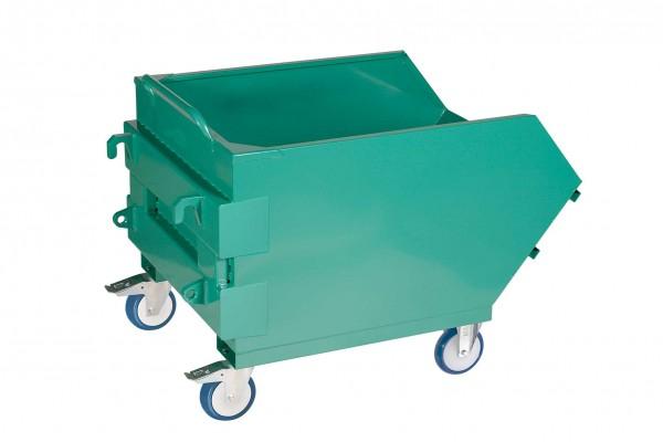 Mistbehälter, Euro Aufnahme, 1.100 Liter Inhalt, pulverbeschichtet