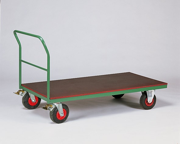 Transportwagen TQV, Vollgummibereifung