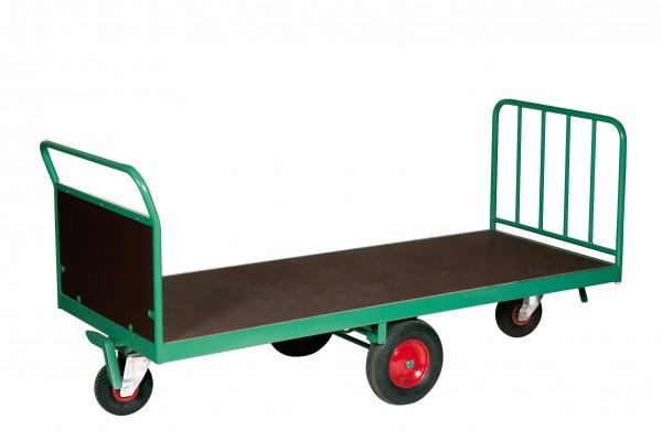 Quaderballen-Wagen, breite Ausführung, rhombische Radanordnung