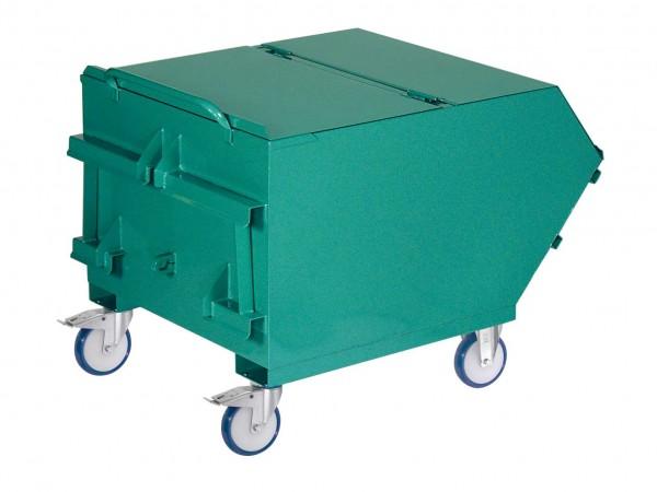 Deckel, 2-teilig für Mistbehälter 900 Liter, nicht nachrüstbar